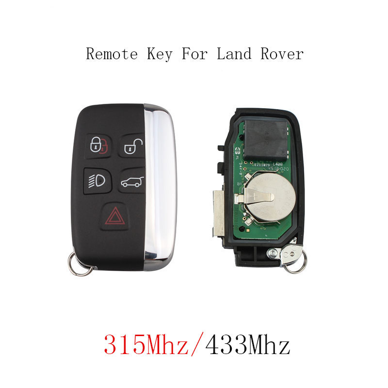 433/315Mhz Smart Remote Key Keyless Fob For Land Rover