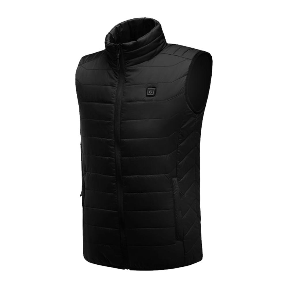 6800mAh li po battery Heated vest 3 levels adjustable Temp Thermal Vests Electric heating vest