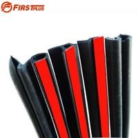For Peugeot 206 307 Car Front Rear Doors Bonnet Trunk Cover Anti Noise Dust Sealing Strips Trim