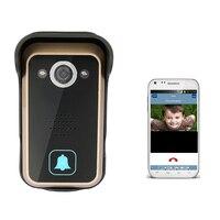 720P Wifi Door Bell IR Night Vision Remote Unlock Anti Temper Alarm PIR Motion Sensor Ip