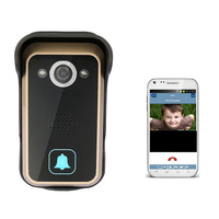 720P Wifi Door Bell IR Night Vision Remote Unlock Anti Temper Alarm PIR Motion Sensor Ip Door Eye Video Peephole Max 4 Users APP