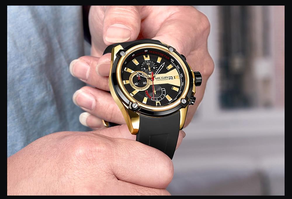 MEGIR Men's Sport Watches MG2086