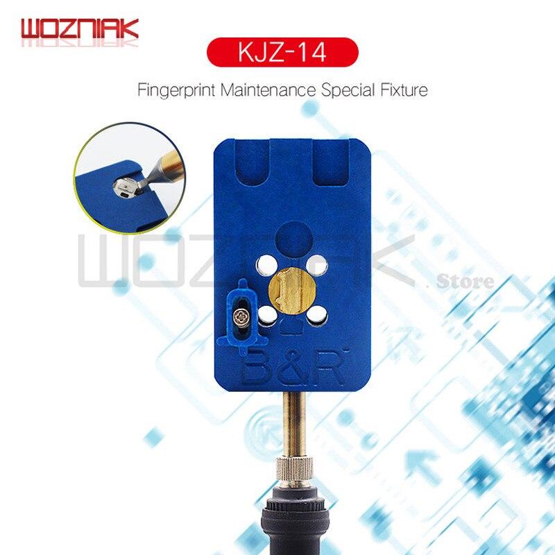 Wozniak für Fingerprint home button reparatur basis leuchte Wartung plattform für iphone 8 8 p 7 7 p 6 s 6sp 6 6 p 5 s 5g U10 IC Werkzeug