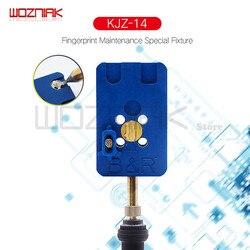 Wozniak für Fingerprint home button reparatur basis leuchte Wartung plattform für iphone 8 8p 7 7p 6s 6sp 6 6p 5s 5g U10 IC Werkzeug