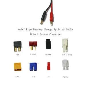 Image 5 - HTRC 19 in 1 şarj kabloları ve 8 1 kabloları IMAX B6 şarj RC parça Lipo pil çok şarj fişi dönüştürme kablo hattı