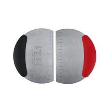 1 шт. из нержавеющей стали тесто резак лопатка-скребок нож для хлеба с измерением Инструменты для выпечки