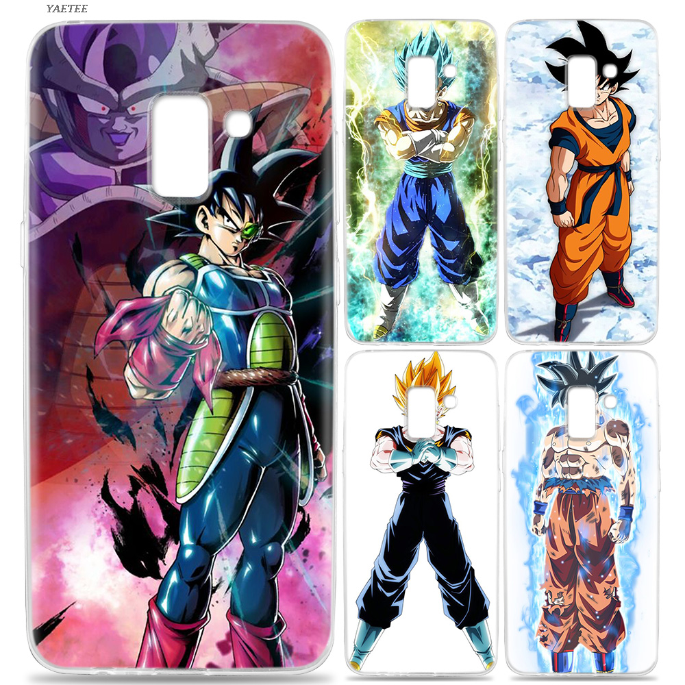 Cellphones & Telecommunications Fitted Cases Initiative Yaetee Dragon Ball Z Case For Samsung Galaxy J4 J6 Plus J3 J5 J7 J8 2018 Silicone Back Cover For Samsung Galaxy J3 J5 2017 Eu Refreshing And Beneficial To The Eyes