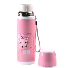 Genuine vacuum cup Ladies Men Kids insulation thermos holding water good gift-500ML Stainless steel Free shipping