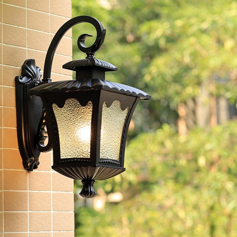 American Style European Style Waterproof Outdoor Lighting