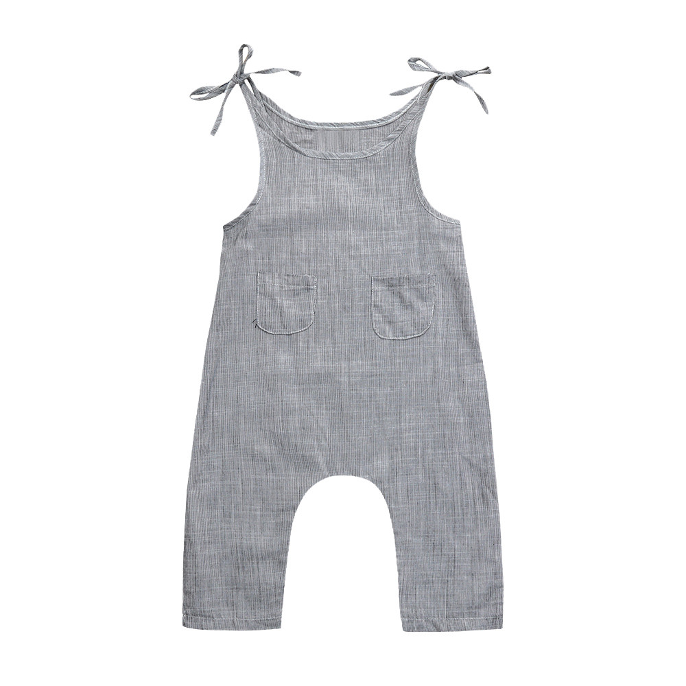 Summer Newborn Baby Girl Clothes Cotton Sleeveless Striped Romper Infant Boy Girl Jumpsuit Kids Clothes Outfit MUQGEW 2018 summer newborn infant baby girl romper sleeveles cotton floral romper jumpsuit outfit playsuit clothes