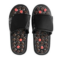 Foot Massage Slippers Shoes Feet Health Care Product Pebble Stone Massager Reflexology Massage Sandals Home Use