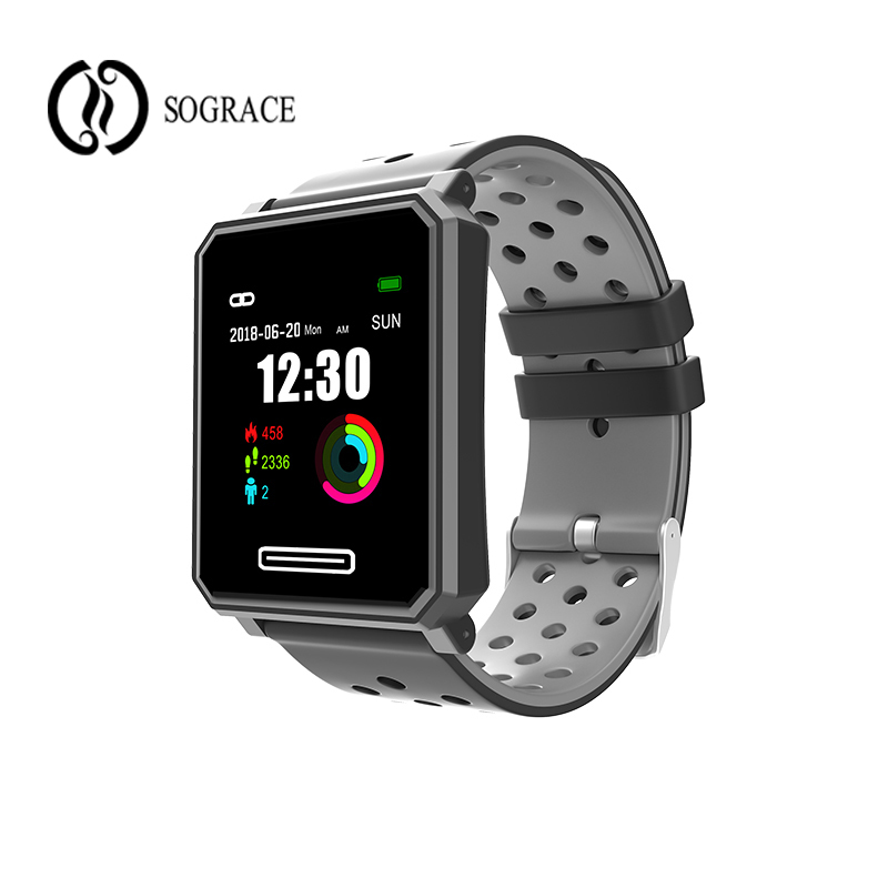 Smart Watch A30 IP67 Waterproof Bluetooth Heart Rate Blood Pressure Swimming Women Men Smartwatch for Xiao mi Android IOS Phone smartwatch x4 smart watch blood pressure men heart rate ip67 waterproof bluetooth wrist smartwatch for xiao mi android ios phone