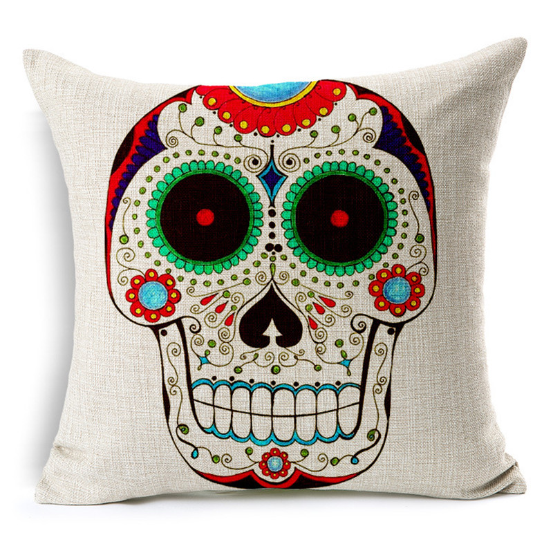 Customized Skull Ocean Cushion Pillow Covers  2