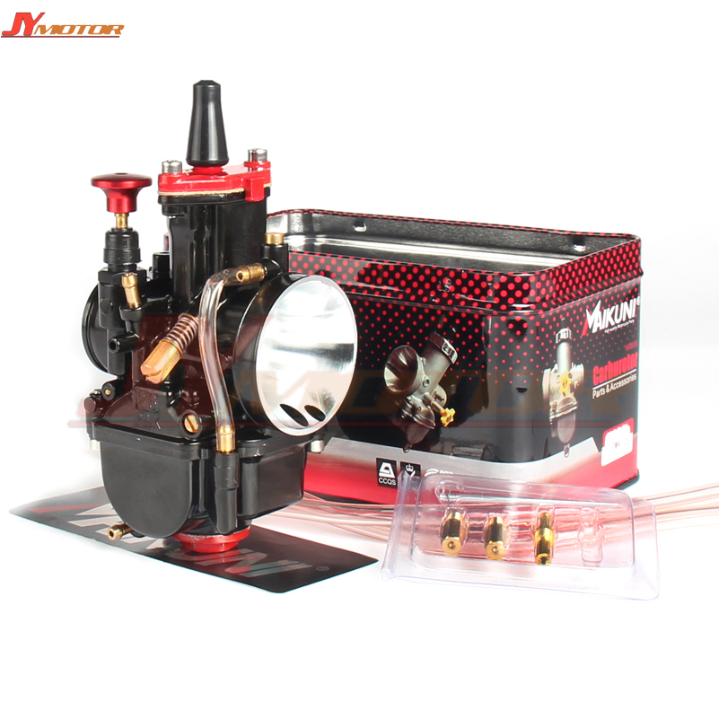 Motorcycle Carburetor 26mm fit for PWK Carburador Koso Pwk 100cc to 450cc All 4T Engine