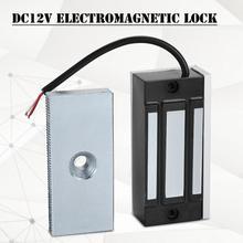 DC12V 60KG Hold force Single Door Mini Electromagnetic Lock Smallest Disply Electronic Magnetic Door Lock Power on Locker цены