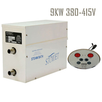Free Shipping Ecnomic Model 9KW 380 415V Steam Generator Sauna Bath Steamer SPA Shower With ST