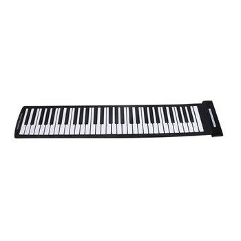 SEWS Portable 61 Keys Flexible Roll-Up Piano USB MIDI Electronic Keyboard Hand Roll Piano