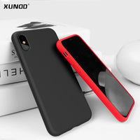 Luxury Anti Knock Case For Iphone X Cover Xundd High Quality Liquid Silicone Shockproof Case For