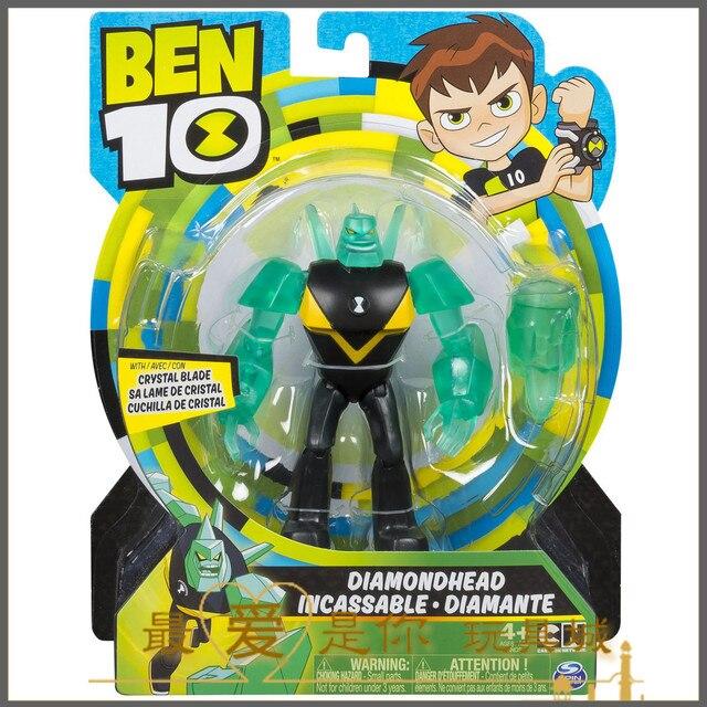 2018 Ben 10 Diamondhead Action Figure Ultimate Omnitrix Alien Omniverse Toys Model Gift