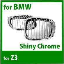 Grille de rein avant de moteur SD pour BM Z3 1996 2002 Chrome