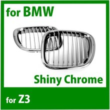 SD Motor Front Kidney Grille for BM Z3 1996 2002 Chrome