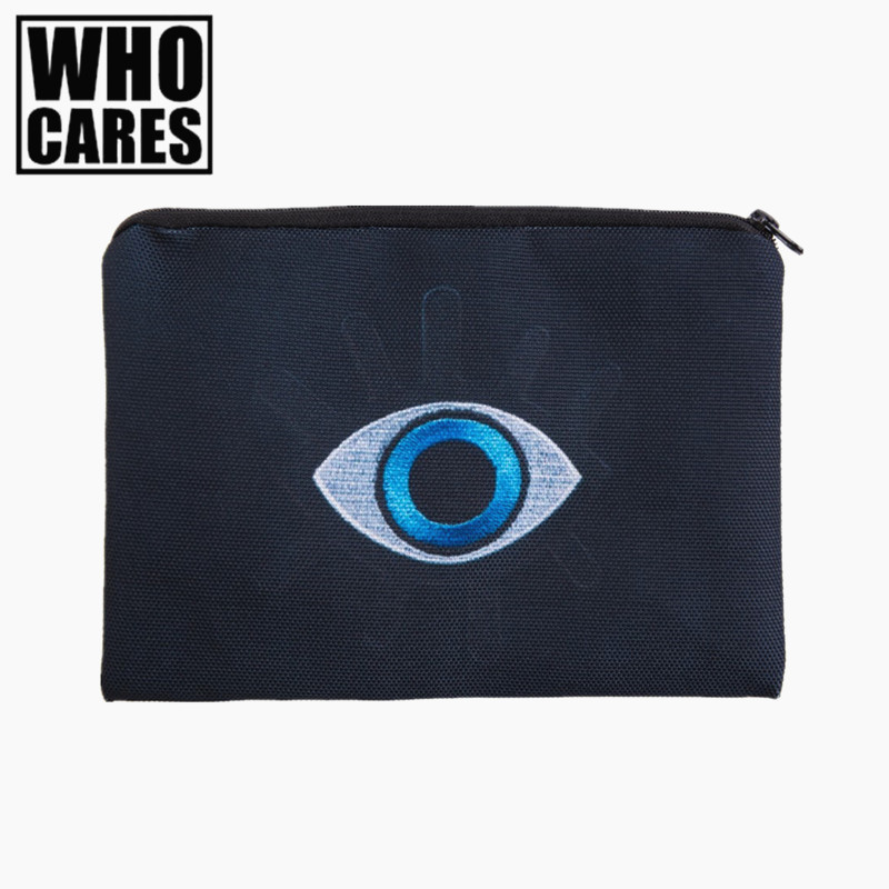 Eye Patch 3D Printing simple make up bag 2017 Fashion Cosmetic case women trousse de maquillage neceser organizer pencil case лосьон ga de soothing eye make up remover
