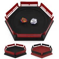 TAKARA TOMY estadio Kai Watch Land juguetes Beyblades Arena Bayblade de fusión metálica 4D con lanzador de Spinning Top caja de almacenamiento de Juguetes