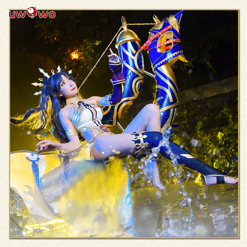 Anime Fate/EXTRA Ishtar Cosplay Costume FGO Women Cosplay Dress For Christmas Halloween Carnival Party Coatume