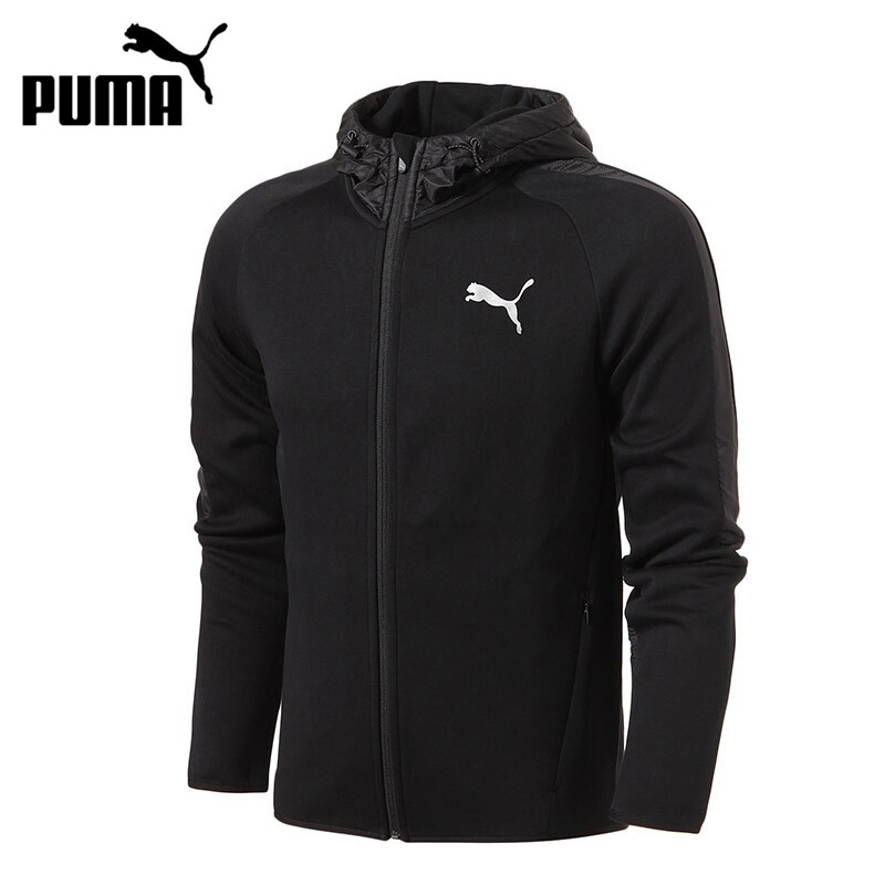 Original New Arrival 2017 PUMA Evostripe Shield FZ Hoody Men's jacket Hooded Sportswear толстовка женская puma urban sports fz hoody цвет темно зеленый 59404414 размер m 44 46