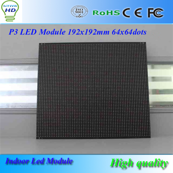 US $35 0 |Black pearl P3 64x64dots led video wall/led module/led  advertising panel 192x192mm for HD led display-in LED Displays from  Electronic
