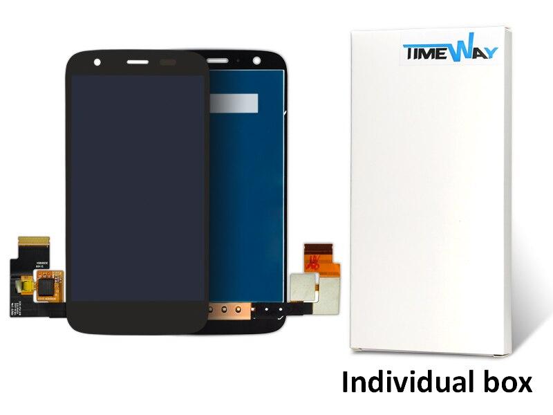 30 unids piezas del teléfono móvil para motorola moto g xt1033 xt1032 pantalla lcd montaje de la pantalla táctil envío gratis