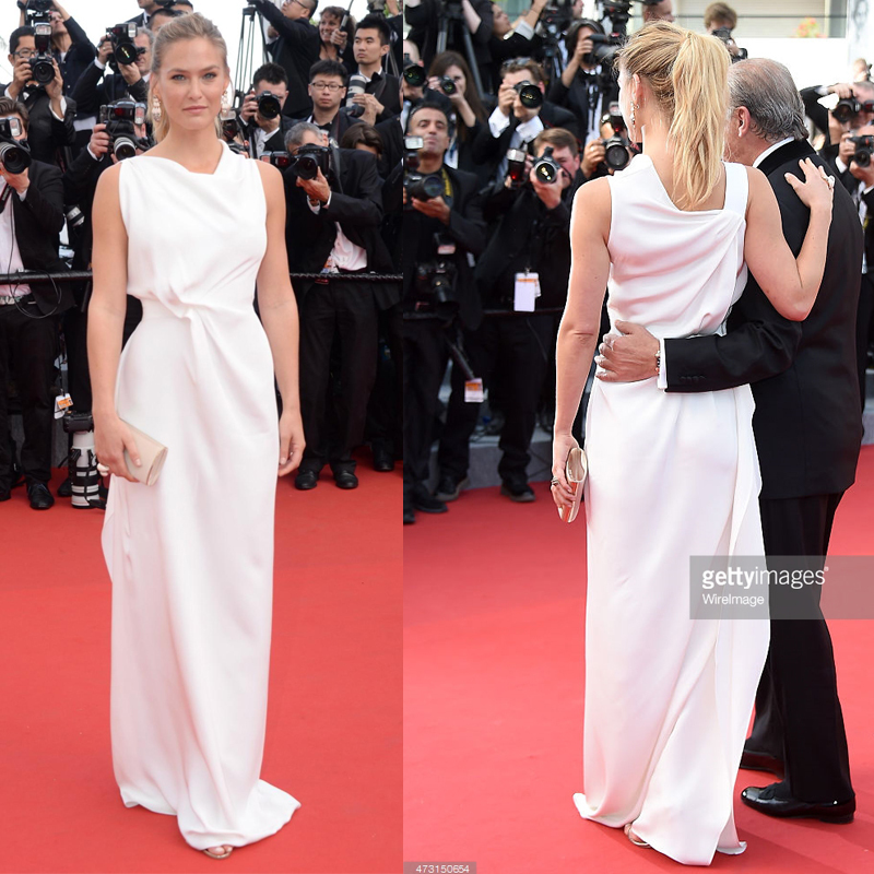 Aliexpress.com : Buy Bar Refaeli 2015 Cannes Gala Red Carpet ...
