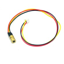 купить 980nm 60mW Infrared IR Laser Module Dot Module 5VDC with TTL 0-15KHz 8x13mm дешево