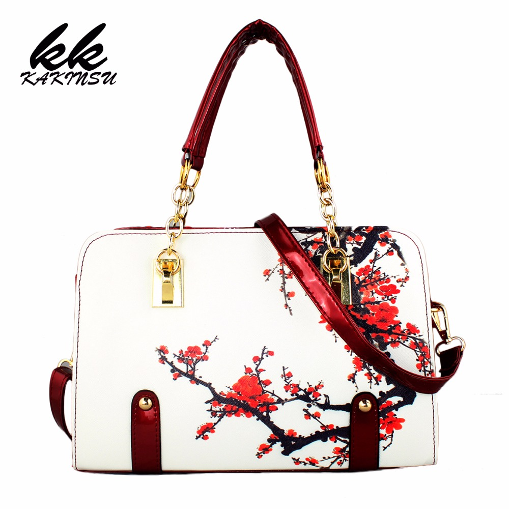 2017 New style Women Bag Fashion PU Leather Women Leather Handbag Casual Flower Pattern Women Shoulder Bag Fashion Female Tote 2018 women leather handbags new female rose flower ladies handbag korean fashion casual shoulder bag large flower messenger bag