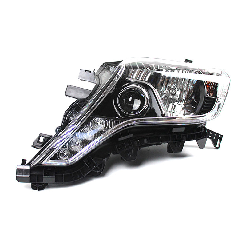 Ownsun 2шт Ownsun высокого качества светодиодные ДХО спрятанный би-ксенон проектор Лен оригинальные запасные фары для Тойота Прадо 2014-2016