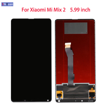 5.99 inch Original For Xiaomi Mi Mix 2 LCD Display + Touch Screen Tested New Digitizer Assembly Replacement For Xiaomi Mi Mix 2 10pcs 100% tested original new lcd display with touch screen digitizer assembly full sets for xiaomi mi 4 mi4 m4 free shipping