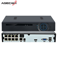 4CH 8CH HD Onvif 1080P IEE802 3af Active 48V Real PoE NVR All In One Network