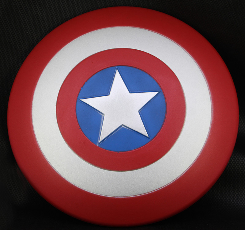 32cm 2017 New The Avengers Marvel Captain America Shield EVA Model Toys Captain America Action Figure Kids Toys Gift Cosplay metal colour the avengers civil war captain america shield 1 1 1 1 cosplay steve rogers metal model shield adult replica wu525