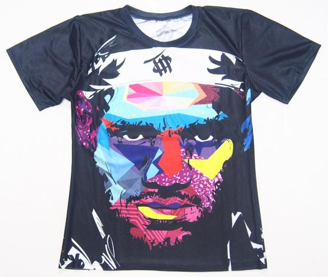Design Creative Lebron James Printing 3D T shirt For Men Tie Dye T ...
