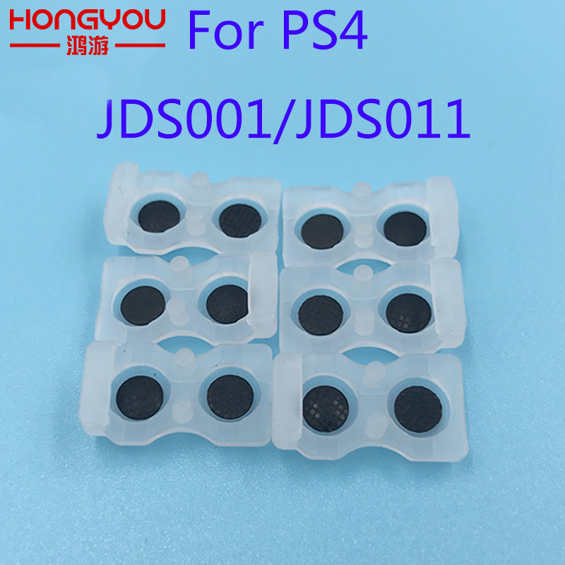 10Pcs Conductive Rubber Pad JDS 001 011 L1 R1 L2 R2 Rubber Silicon Conductive Button Pad Set For Sony PS4 DualShock