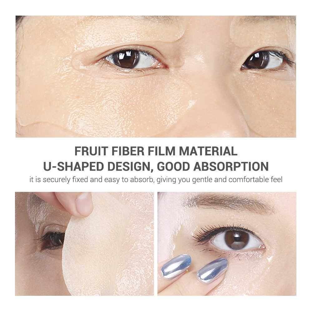 Lanbena Vitamin C Mặt Nạ Mặt Nạ Mắt Loại Bỏ Túi Mắt Mắt Dòng Tăng Cường Tối Vòng Tròn Tăng Cường Đèn Sửa Chữa Nâng 50 Chiếc miếng Dán Mắt