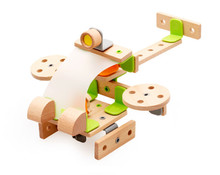 New wooden toy Helicopeters Model educational toys Baby Free shipping