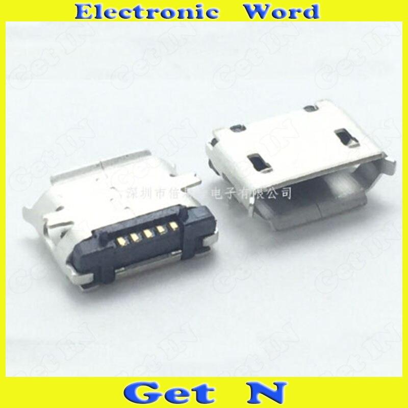 ecb131c5e98a9 25 sztuk 5 P SMD Micro USB Port Gniazdo Żeńskie dla MAJSTERKOWICZÓW  Akcesoria Telefonu 5 Pinów Gniazda Ładowania Micro USB
