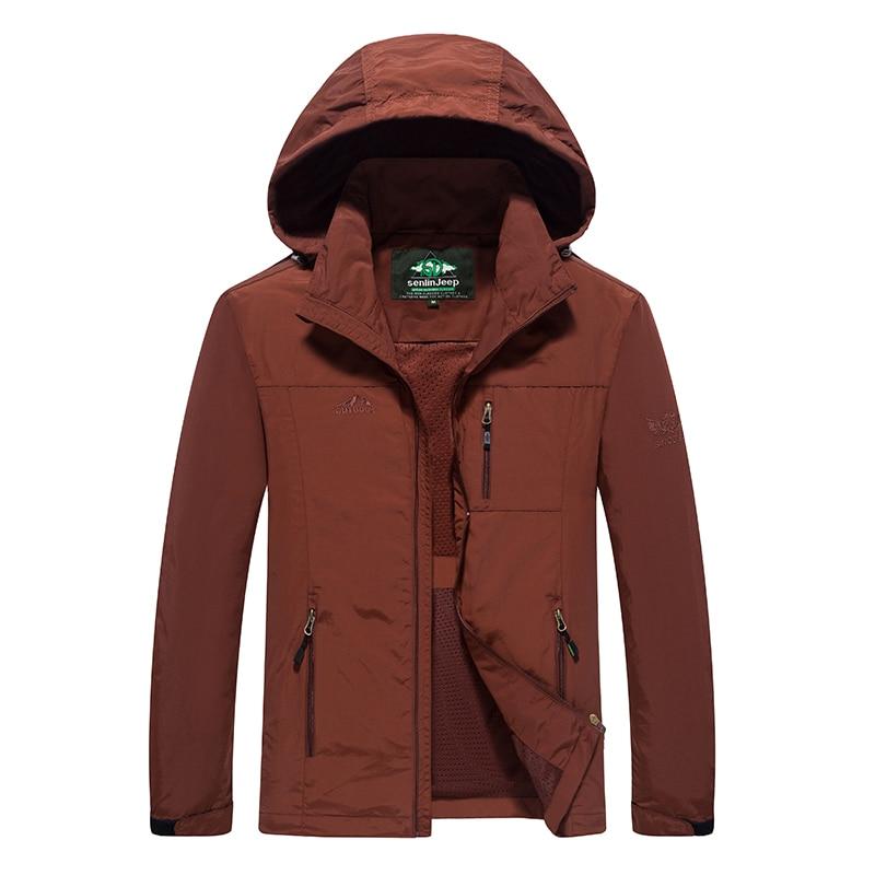 Spring autumn men Women jacket coats for men jaqueta Windbreaker fashion male tourism jackets sportswear waterproof Windproof-in Jackets from Men's Clothing    1