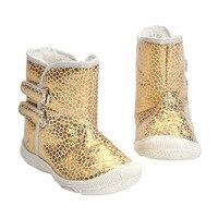 2017 Winter Baby Winter Leopard Shoes Newborn Infant Toddler Kids First Walkers Super Keep Warm Girls