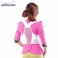 JORZILANO Women Unisex Kids Breast Back Chest Support Belt Corrector Shoulder Brace Tape Posture Orthotics Health