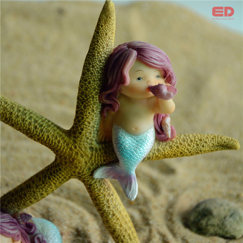 Everyday Collection Modern Office Desk Home Decoration Accessories Gift Valentine Mermaid Starfish Ornament Return Gift Multan