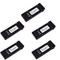 Upgraded 850mAh 3.7V Lipo Battery For E58 S168 JY019 RC Drone Quadcopter Spare Parts 3.7v Rechargeable Battery 5pcs/sets