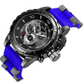 Top de luxo da marca v6 sports watch men silicone exército militar masculino relógio dos homens de moda relógio de pulso de quartzo relogio masculino