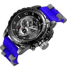 V6 Top marque de luxe Montre de Sport Hommes silicone Militaire de L'armée homme Quartz Montres Relogio Masculino mode hommes de montre horloge